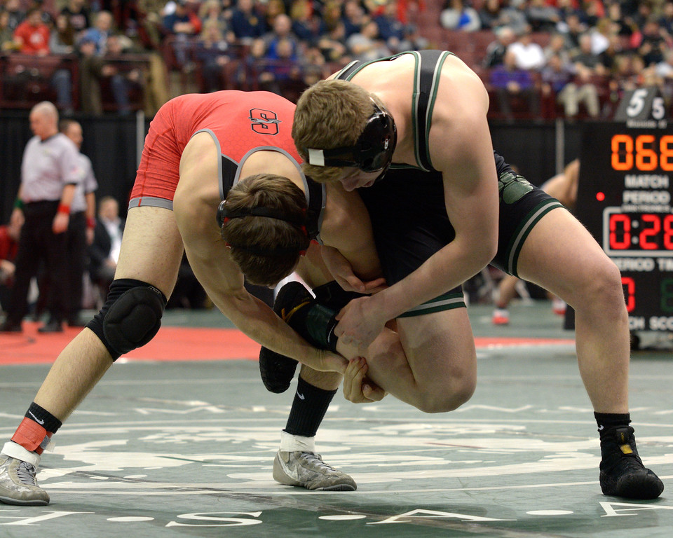 . Steve Hare - The News-Herald Photos from the third day of the state wrestling tournament on March 10, 2018, in Columbus.