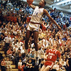 Courtesy Tim Robertson Jr.<br /> St. Joseph's Treg Lee dunks against Mentor in a Class AAA district final in 1987.