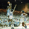 Courtesy Tim Robertson Jr.<br /> St. Joseph's Treg Lee shoots against Dayton Dunbar in a 1987 Class AAA state semifinal.
