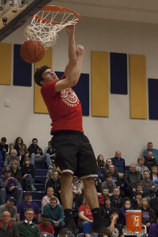 . Jen Forbus - The Morning Journal<br> Photos from the Lorain County Legeza Cage Classic high school boys basketball all-star game on March 25 at North Ridgeville.
