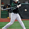 Jon Behm - The Morning Journal<br /> Elyria Catholic's Tony LoParo takes a swing during the bottom of the first inning against Vermilion on March 28 at Oberlin College.