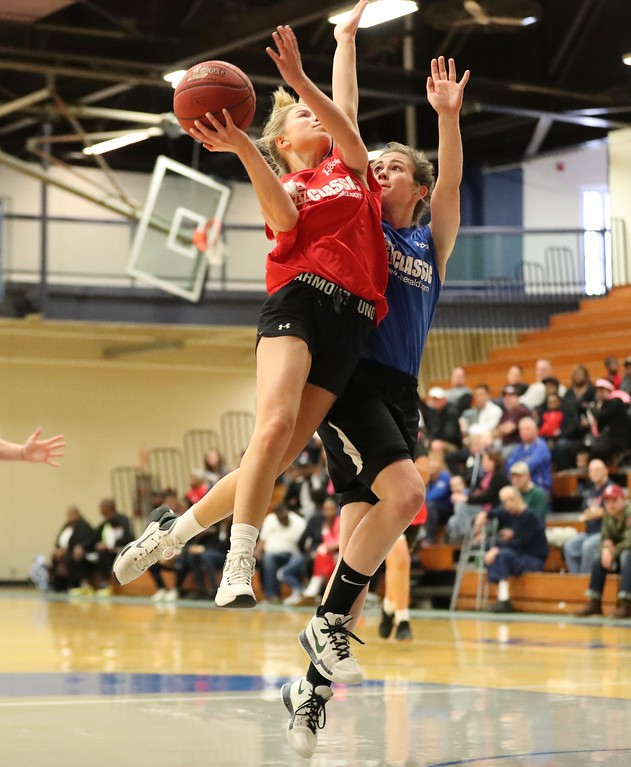 . Tim Phillis - The News-Herald Photos from the 40th News-Herald Classic high school basketball senior all-star games on March 31, 2018, at Lakeland Community College.