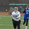 Paul DiCicco - The News-Herald<br /> As time expired in the first half, Lake Catholic's Kathryn Sutton shoots a penalty shot.