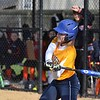 Paul DiCicco - The News-Herald<br /> Wickliffe's Caitlyn Henderson about to make contact on her multi-hit effort against Chagrin Falls on Apr 12.