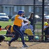 Paul DiCicco - The News-Herald<br /> Wickliffe's Caitlyn Henderson about to connect on a hit against Chagrin Falls.  Wickliffe went on to win 17-0 on Apr 12.
