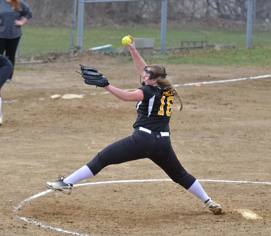 . Paul DiCicco - The News-Herald Photos from the South vs. Riverside softball game on April 12, 2018.