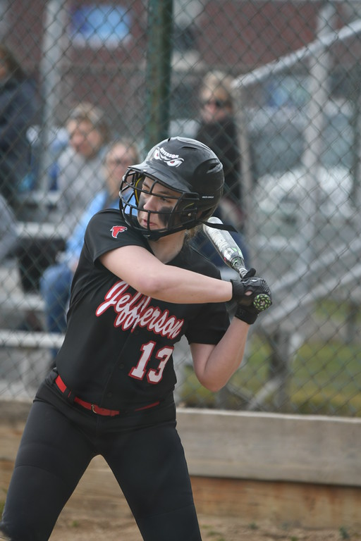 . Patrick Hopkins - The News-Herald Photos from the VASJ vs. Jefferson softball game on April 12, 2018.