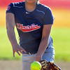 Jon Behm - The Morning Journal<br /> Oberlin pitcher Bryanna Rivas throws a pitch during the top of the fourth inning against Firelands on April 14.