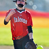 Jon Behm - The Morning Journal<br /> Firelands pitcher Maddie Palmer fires in a pitch during the bottom of the third inning against Oberlin on April 14.