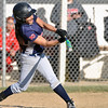 Jon Behm - The Morning Journal<br /> Oberlin's Bryanna Rivas takes a swing during the bottom of the fifth inning against Firelands on April 14.