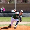 Barry Booher - The News-Herald<br /> Lake Catholic's Adam Cirar delivers a pitch  in a complete-game victory over Perry 8-2.