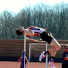 Brittany Chay - The News-Herald<br /> Perry's Jackson Burdyshaw participates on the high jump April 16 at the Gene Kobus Perry Relays.
