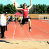 Brittany Chay - The News-Herald<br /> Perry's Nicholas Lauria participates on the long jump April 16 at the Gene Kobus Perry Relays.