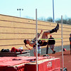 Brittany Chay - The News-Herald<br /> Kirtland's Katie Straus participates on the high jump April 16 at the Gene Kobus Perry Relays.