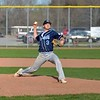 Paul DiCicco - The News-Herald<br /> Willougby South's pitcher, Bryan Sufka pitched a complete game but came away with a loss, 4-0 against Mayfield.