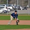 Paul DiCicco - The News-Herald<br /> Willoughby South's Jack Elliot fielding a grounder in the 6th inning.
