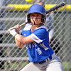 Jon Behm - The Morning Journal<br /> Midview junior Hannah Taulbee passes on a high pitch during the top of the second inning against Midview on April 20 in Amherst.