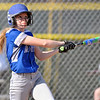 Jon Behm - The Morning Journal<br /> Midview junior Lauren Landers watches her hit during the top of the second inning against Amherst on April 20 in Amherst.