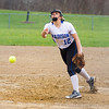 Barry Booher - The News-Herald<br /> Madison pitcher Alyssa Rose delivers during the Blue Streaks' 2-1 victory over Chardon on April 21.