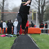 Michael Johnson - The News-Herald<br />  Joe Suba of Riverside performs in the Long Jump event during the Ranger Relays at North High School on April 23, 2016.