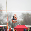 Michael Johnson - The News-Herald<br /> Matt Hanson of Chagrin looks back at the bar during the Pole Vault Event in the Ranger Relays at North High School on April 23, 2016.