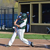 Paul DiCicco - The News-Herald<br /> Lake Catholic's Josh Corbin connecting on a single early in the game.