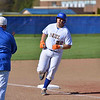 Paul DiCicco - The News-Herald<br /> NDCL's Julian Mangelluzzi trotting around 3rd base after his home run to left field against Lake Catholic.