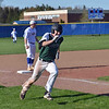 Paul DiCicco - The News-Herald<br /> Lake Catholic's Nick D'Angelo rounding 3rd base and coming home.