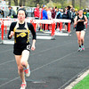 Brittany Chay - The News-Herald<br /> Beachwood's Leah Roter runs during the Mentor Cardinal Relays on April 30.