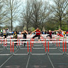Brittany Chay - The News-Herald<br /> Mentor's Aysha Muhammad runs during the Mentor Cardinal Relays on April 30.