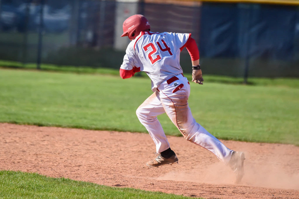 . Mike Payne - The News-Herald Photos from the Euclid vs. Mentor baseball game on April 30, 2018.