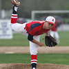 Michael Johnson - The News-Herald<br /> Kenston Pitcher, Chad Linder throws a pitch during the South vs Kenston baseball game at Willoughby South High School on May 4, 2016. South defeated Kenston 7-3.