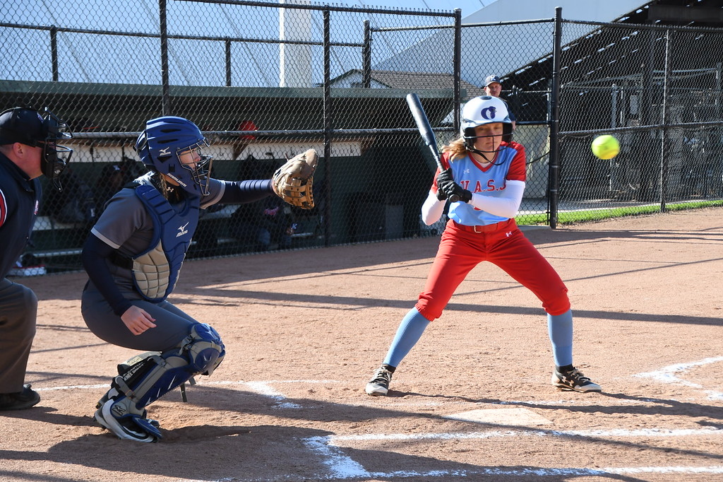 . Patrick Hopkins - The News-Herald Photos from the VASJ vs. Warren JFK softball game on May 7, 2018.