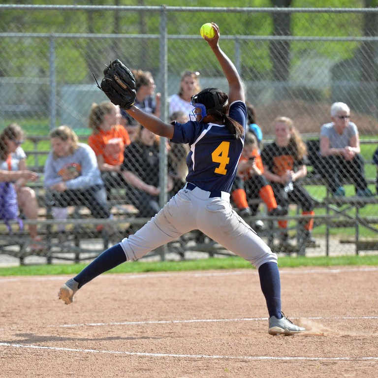 . Paul DiCicco - The News-Herald Photos from the Euclid vs. North softball game on May 9, 2018.