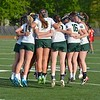 Paul DiCicco - The News-Herald<br />  Lake Catholic's starting group starts things off with their pre-game ritual.