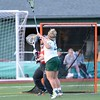 Paul DiCicco - The News-Herald<br />  Lake Catholic's Kathryn Sutton scored several goals, and she was persistent in not allowing the goalie to outlet a pass after a blocked goal attempt.