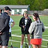 Paul DiCicco - The News-Herald<br /> Mentor and Lake Catholic square off in the battle of Mentor.  Rules and the coin flip between captains on May 10.