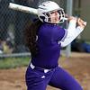 Randy Meyers - The Morning Journal<br /> Madi Nunez of Keystone watches her hit slice foul against Padua on May 11.