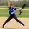 Barry Booher - The News-Herald<br /> Madison's Alicia Majors, was the winning pitcher in Madison's Conference Championship win against Riverside.