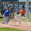 Paul DiCicco - The News-Herald<br />  A Chagrin Falls base-runner sliding home safely early in the game to make it 1-0.