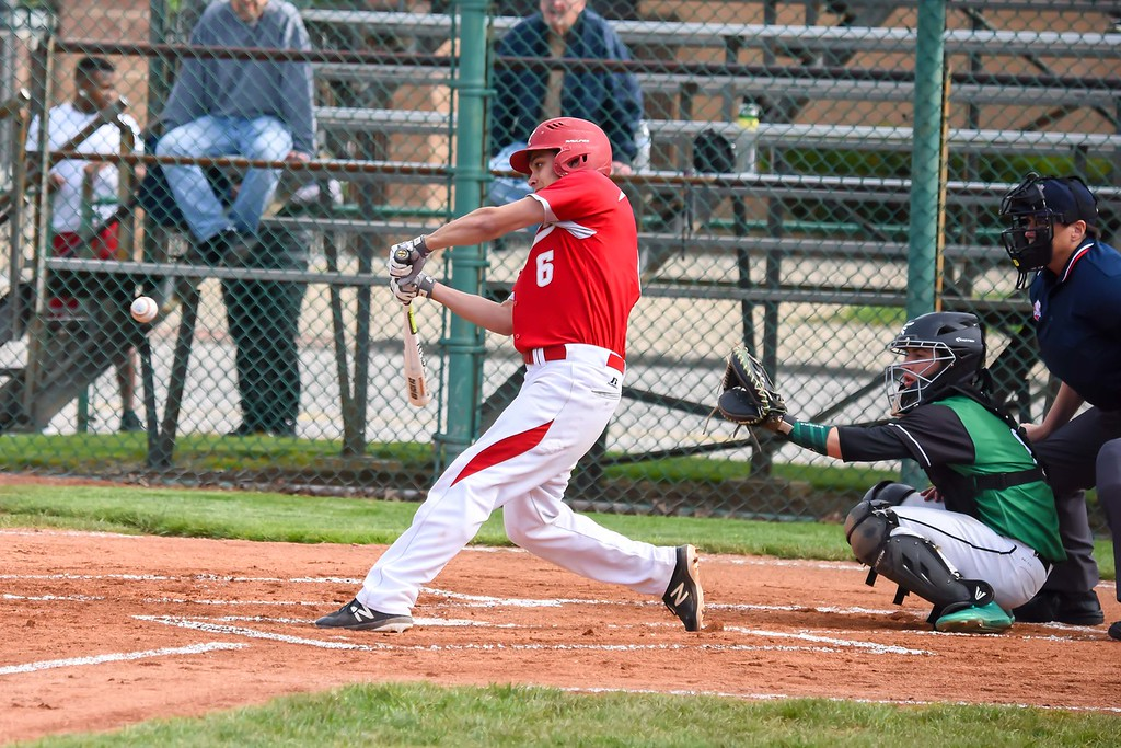 . Michael P. Payne - The News-Herald Photos from the Mentor vs. Mayfield baseball game on May 16, 2018.