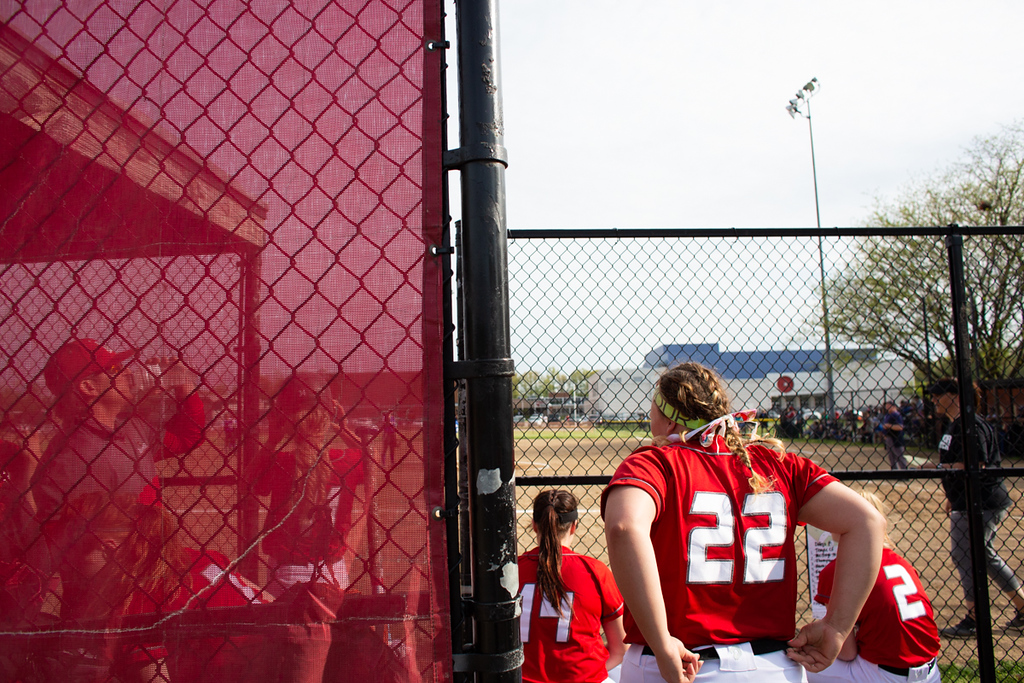. Michael Johnson - The News-Herald A scene from Mentor\'s loss over Madison on May 16, 2018.