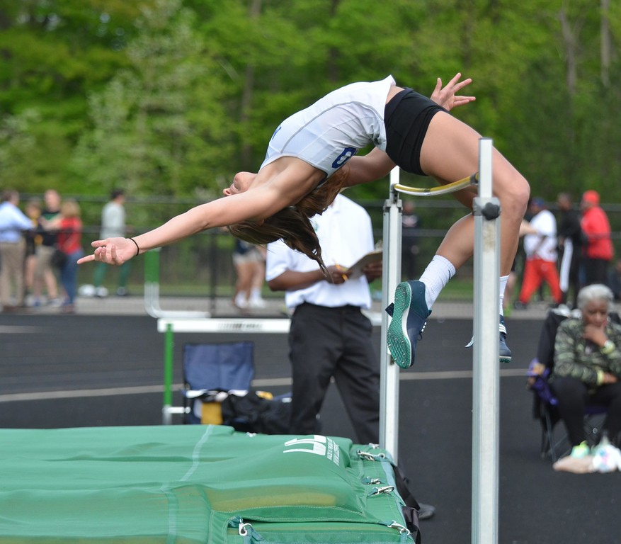 . Paul DiCicco - The News-Herald Photos from the Division I district track and field meet on May 16, 2018, at Mayfield.