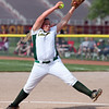 Madison O'Berg of Amherst delivers a pitch against Elyria. Randy Meyers -- The Morning Journal