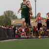 Michael Johnson - The News-Herald<br /> Lake Catholic's Christian DeMitro races in the 4x800 meter relay during day one of the D1 District Track Meet at Mayfield High School on May 17, 2017.