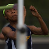 Michael Johnson - The News-Herald<br /> Euclid's Joann Felix performs in the girls high jump event during day one of the D1 District Track Meet at Mayfield High School on May 17, 2017.