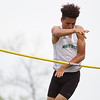 Michael Johnson - The News-Herald<br /> Mayfield's Maurice Monroe performs in the pole vault event during day one of the D1 District Track Meet at Mayfield High School on May 17, 2017.