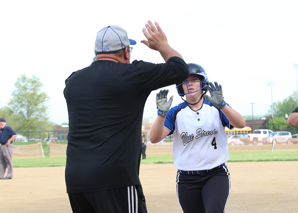 . Coleen Moskowitz - The News-Herald Photos from the South vs. Madison softball game on May 17, 2018.