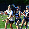 Brittany Chay - The News-Herald<br /> Lake Catholic's Emily Osborne and Kenston's Shelby Zenobi, during and OHSLA lacrosse tournament game May 23 at Lake Catholic.