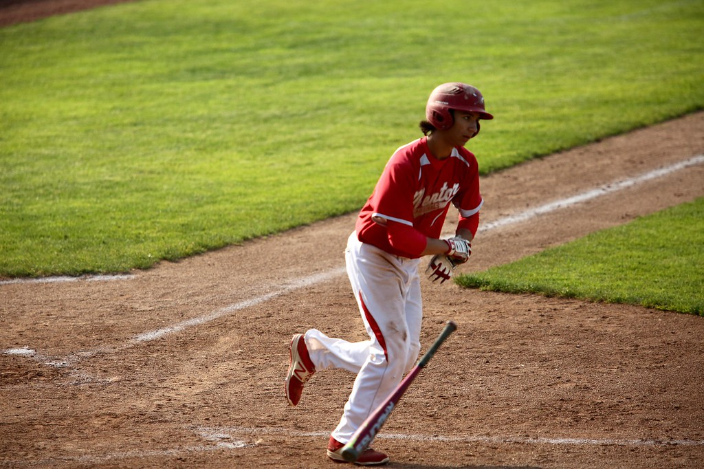 . Michael Johnson - The News-Herald Photos from the Mentor vs. Highland baseball game on May 24, 2018.